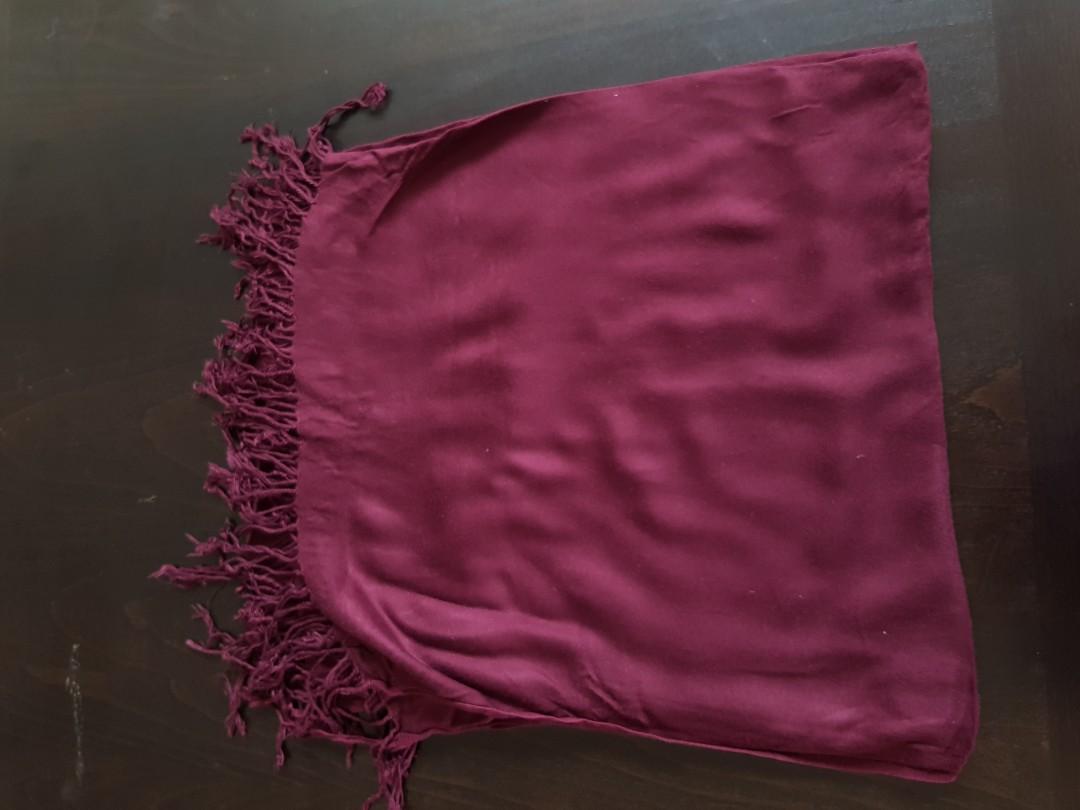 Big cotton scarf