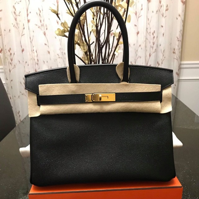 5c83f800015 Brand new hermes birkin 30 black epsom ghw  a march 2018 receipt ...