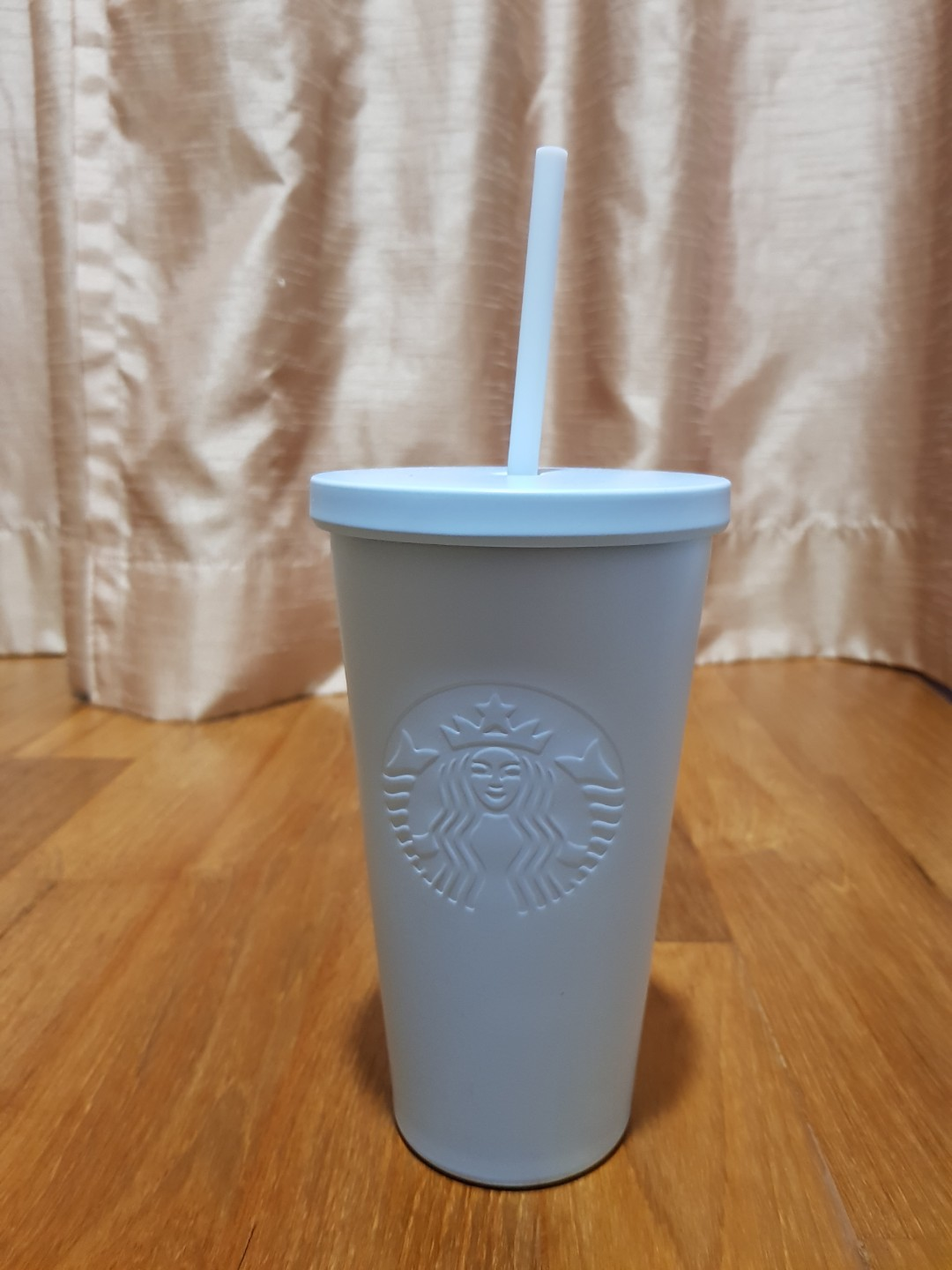 a2e72ee61e8 BRAND NEW STARBUCKS LIGHT BLUE MATTE CUP