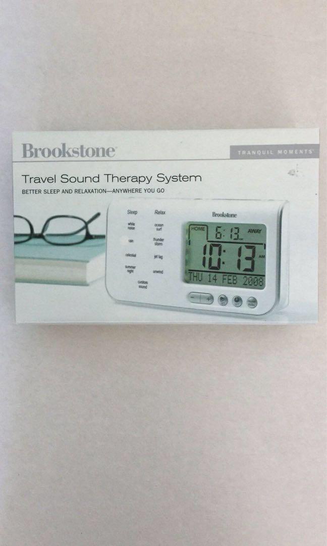 Brookstone Sound Therapy system