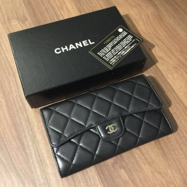 a902d4256866 Chanel wallet price reduce for fast deal, Luxury, Bags & Wallets on  Carousell