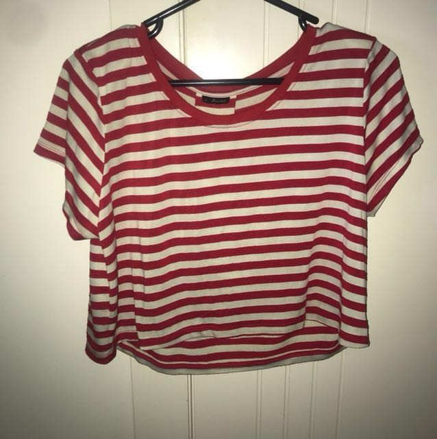 #cheapaschips  Stripe crop