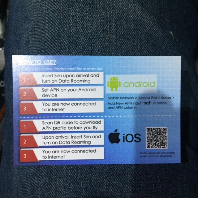 China-Hk-Macau : Data Roaming Sim unlimited 4G data + Free use in Hong Kong Macau