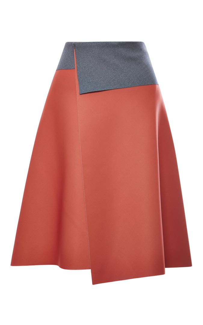 Clover Canyon Blush Neoprene Skirt