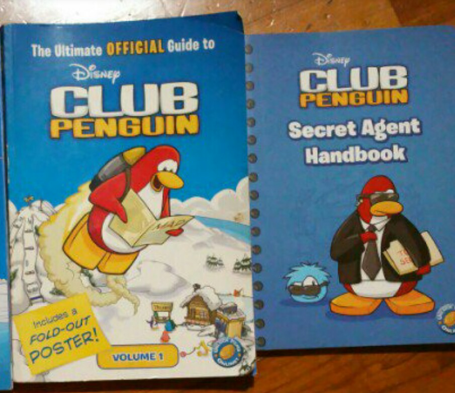 Club Penguin The Ultimate Official Guide Secret Agent Handbook