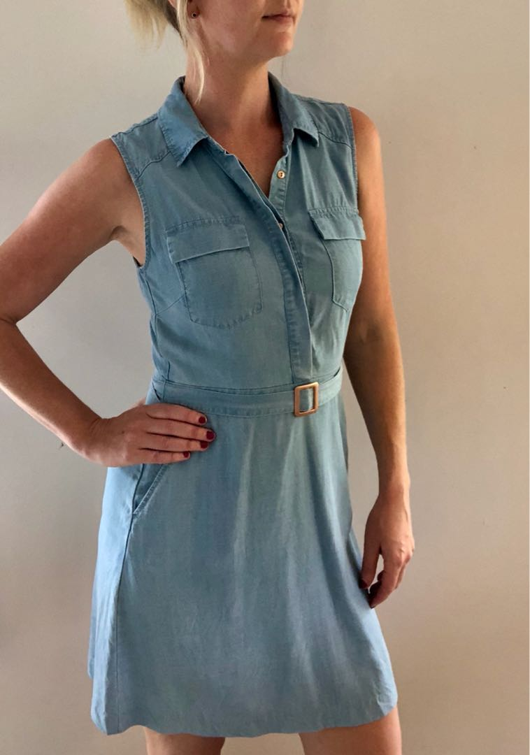 Denim style dress