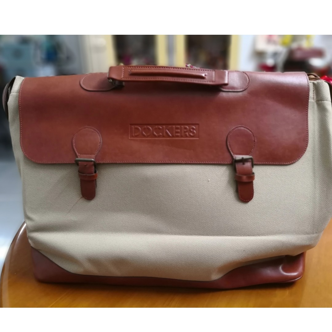 579dfe82b Dockers Travel Bag ( Brown), Travel, Travel Essentials, Luggage on ...