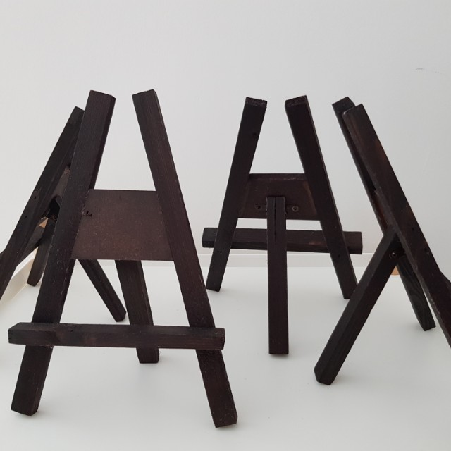 Frame stands mini a frame canvas stand wooden stands, Furniture ...