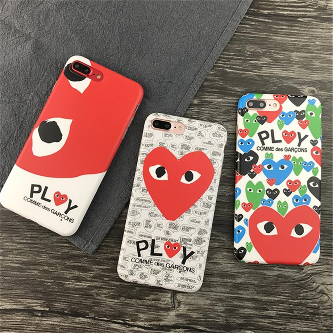 best website 7ee41 916f3 [FREE DELIVERY] CDG Play Comme des Garcons Heart iPhone Case