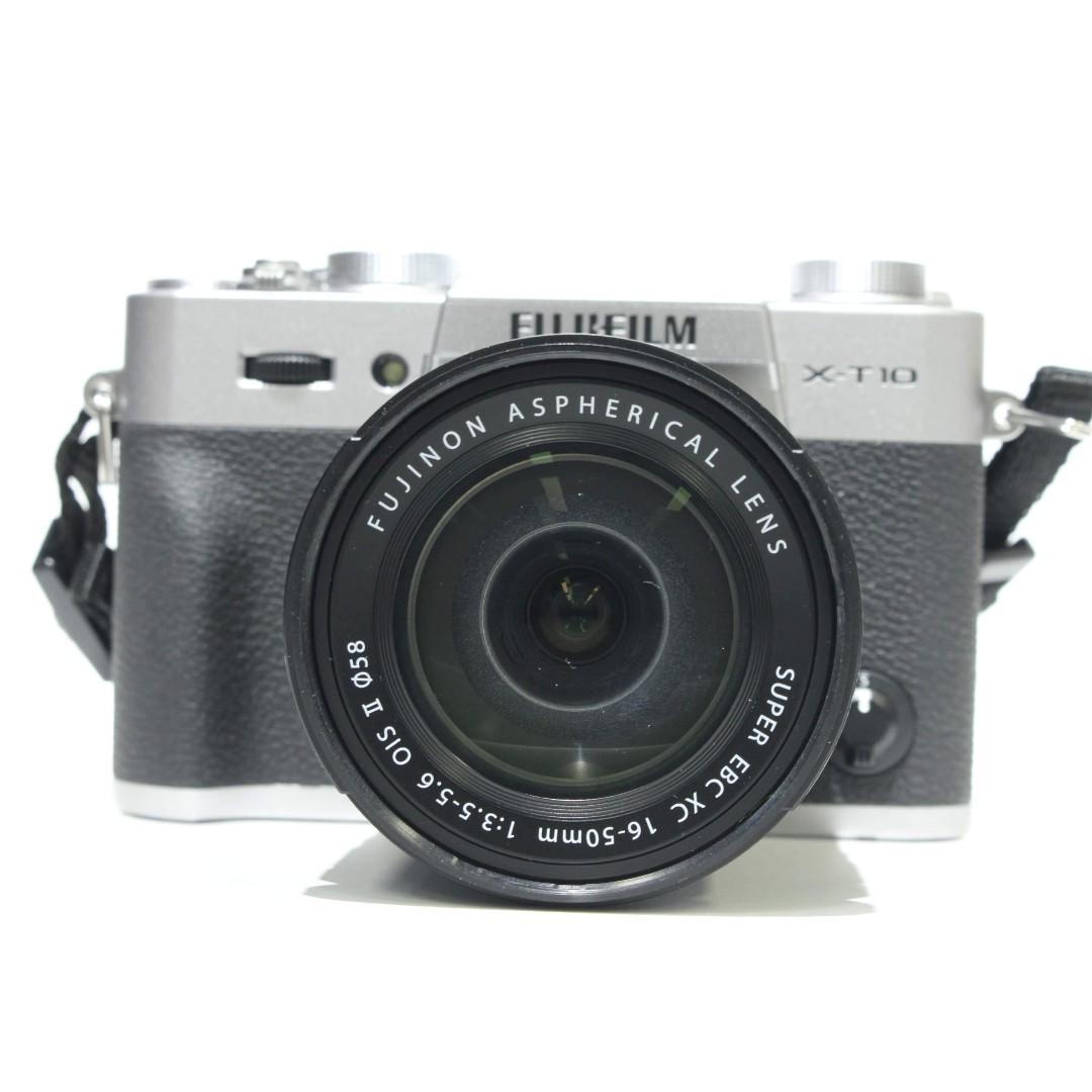 Fujifilm X T10 Xc 16 50mm F35 56 Ois Ii Kit Silver Kamera Di Panasonic Lumix Dmc Gf2 14 42mm Paket Photo