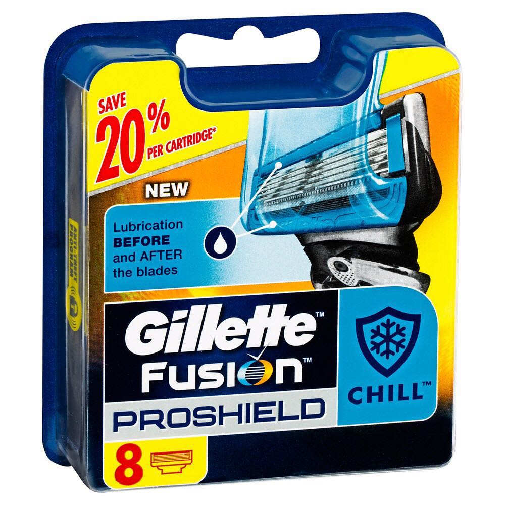 Gillette Fusion Proshield 8s - 3 for $70
