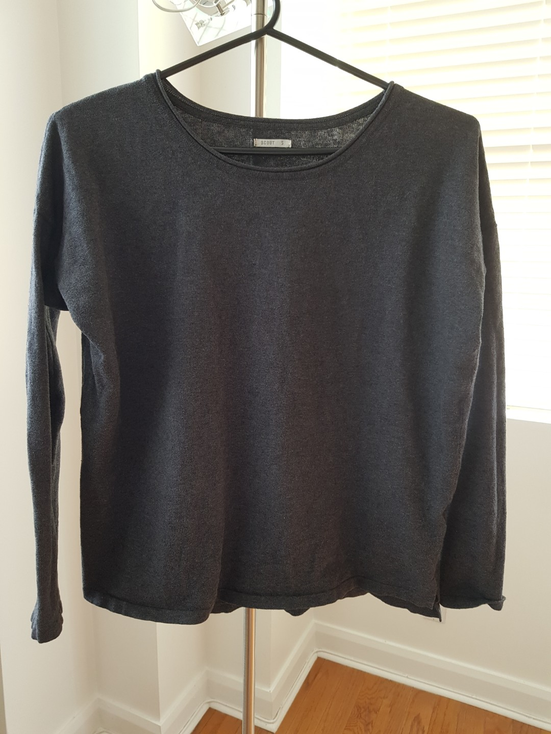 Grey Scout Sweater