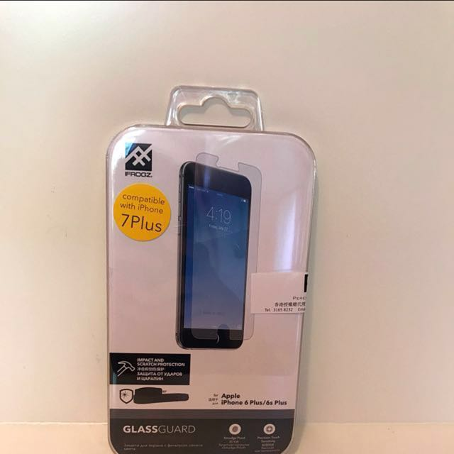 best sneakers 50b98 a3b92 Ifrogz iPhone 7 plus 玻璃貼 Glass guard for Iphone 7 plus