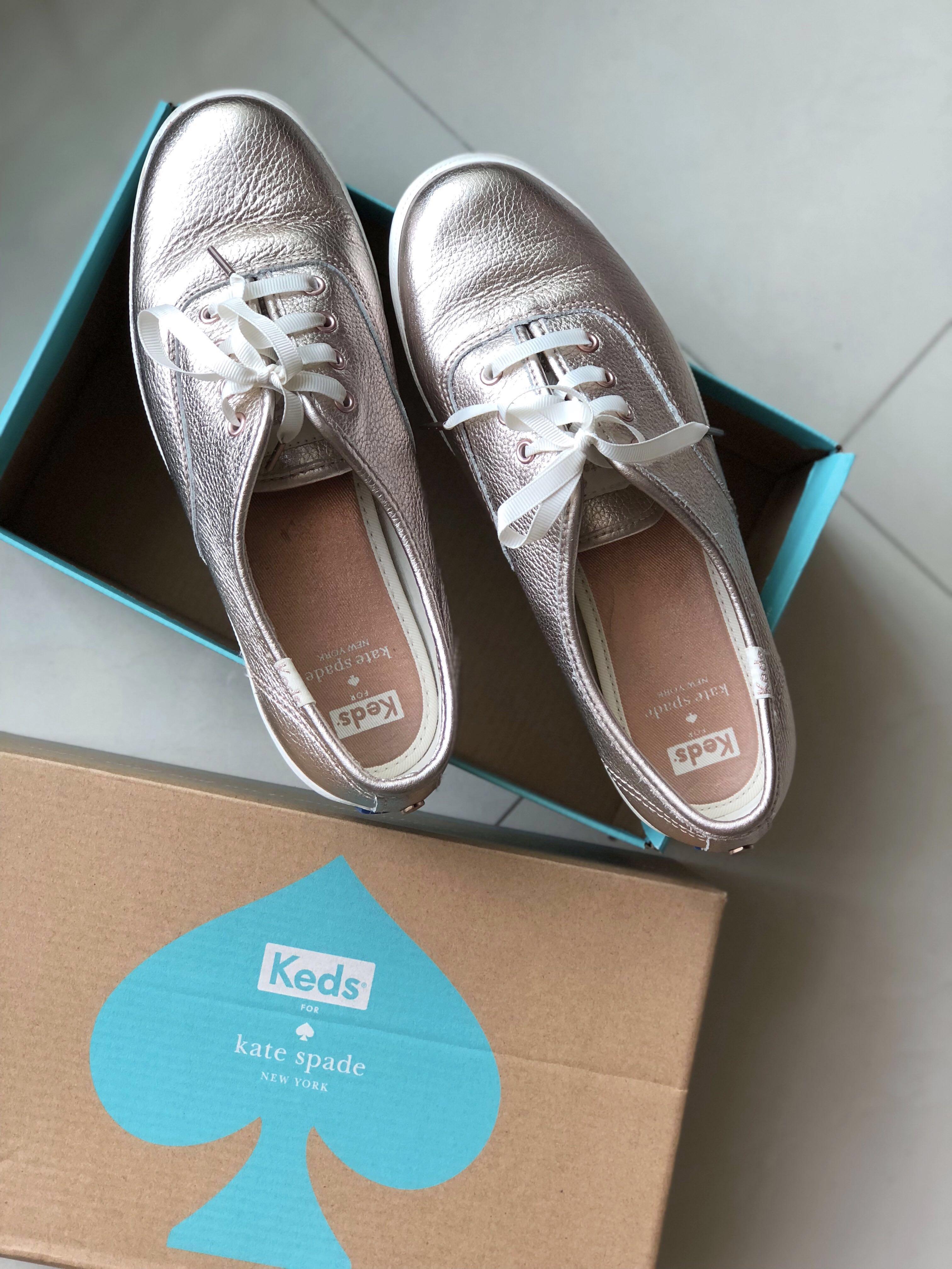 35bd67a5681a Keds X Kate Spade Metallic Rose Gold Shoes