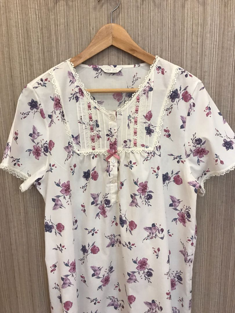a0f43b0fb Marks   Spencer Women Sleepwear   Housecoat. AUTHENTIC. Size UK 12 ...