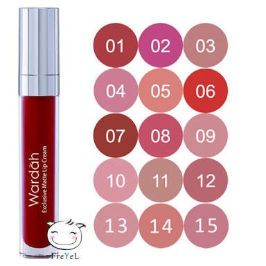 Dan 05 Speachless Source · Wardah Exclusive Matte Lip Cream 03 See You .