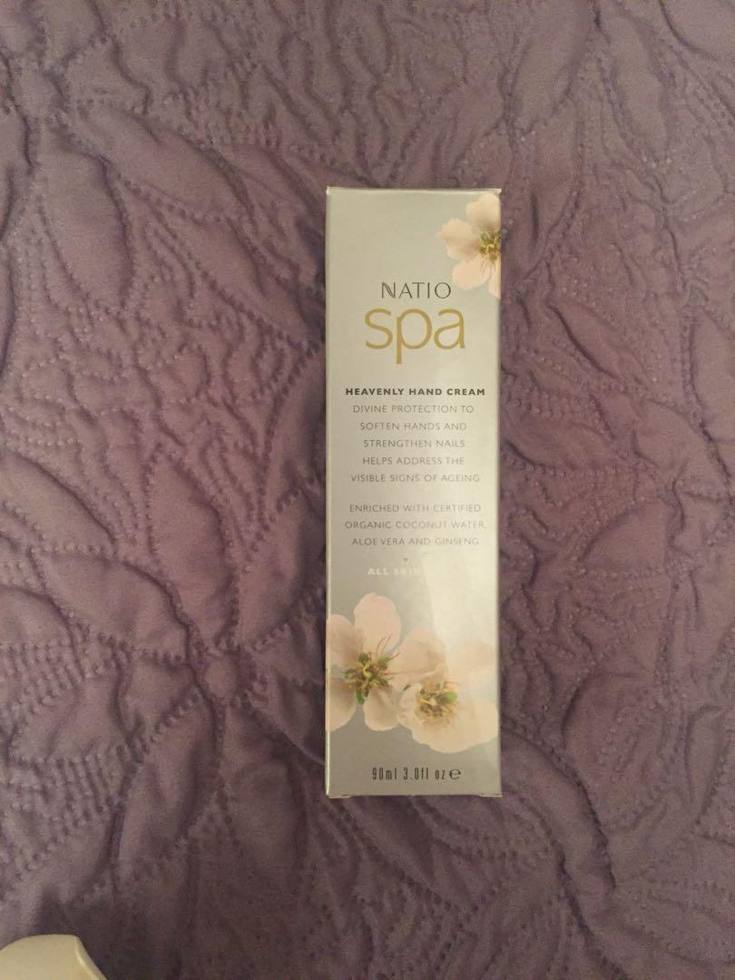 NEW Natio hand cream