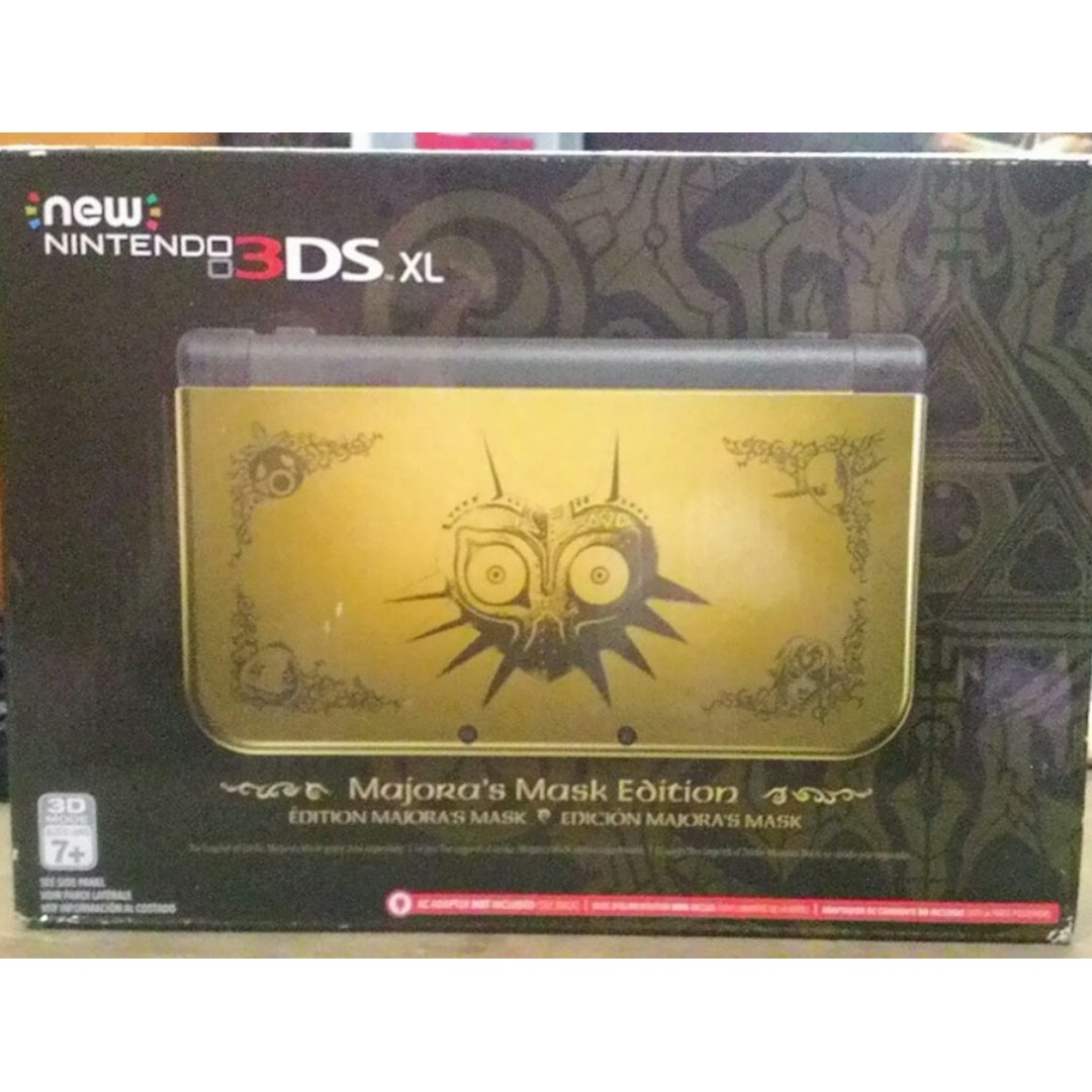 new nintendo 3ds xl majoras mask edition rare electronics others