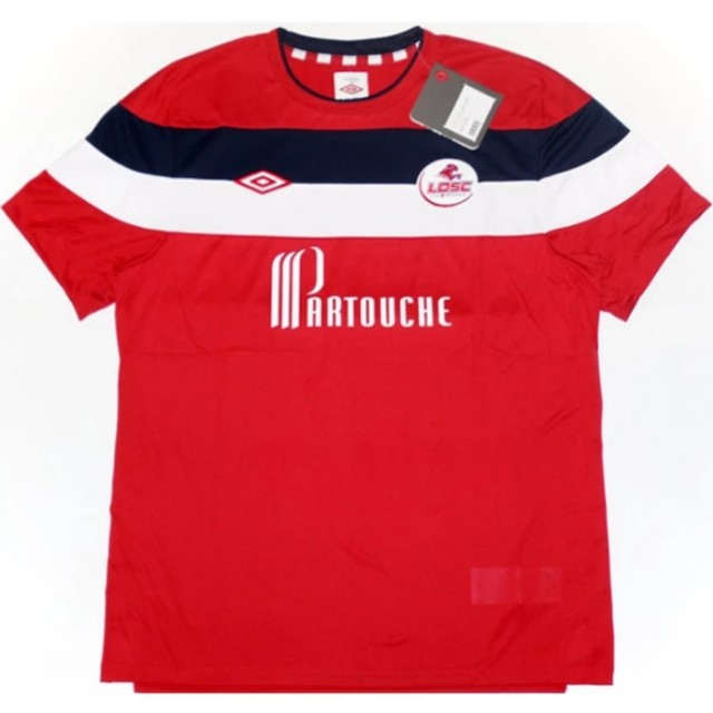 187c8c890 New) Original Umbro Lille Player Issue Champions League Home Jersey ...