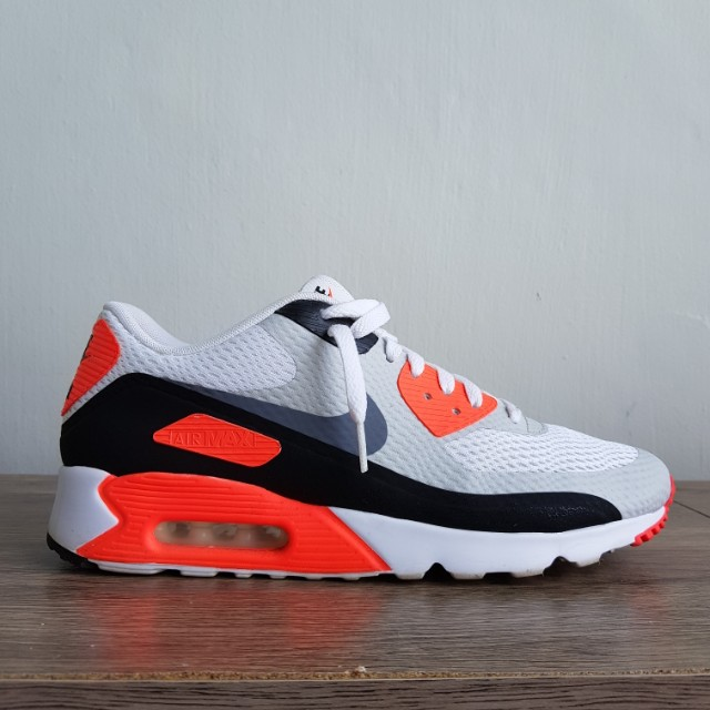 huge discount c55d1 3e6ac Nike Air Max 90 Ultra Essential Infrared, Men s Fashion, Footwear on ...