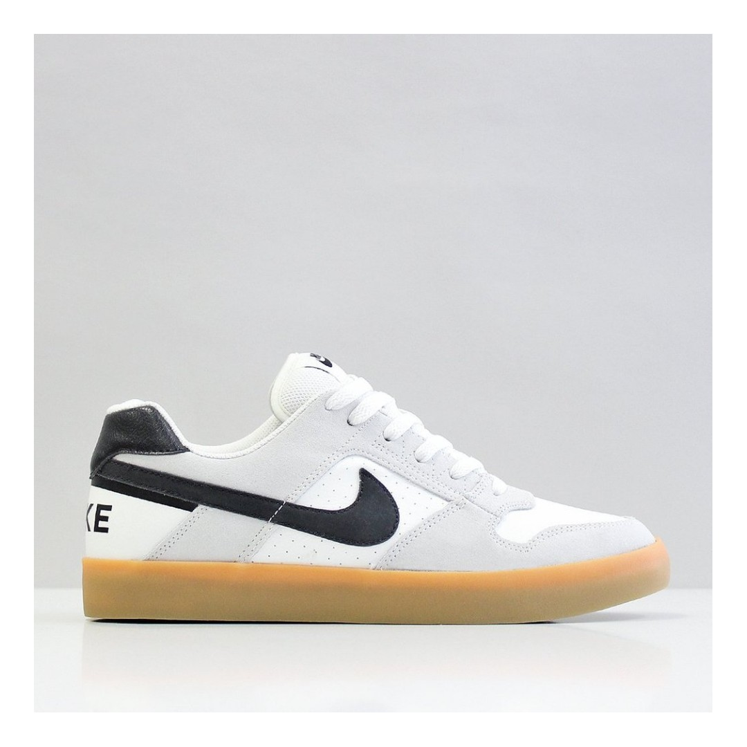 5bc9cd9886e58 NIKE SB DELTA FORCE VULC SHOES – SUMMIT WHITE/BLACK/GUM LIGHT BROWN/SUMMIT  WHITE, Men's Fashion, Footwear on Carousell