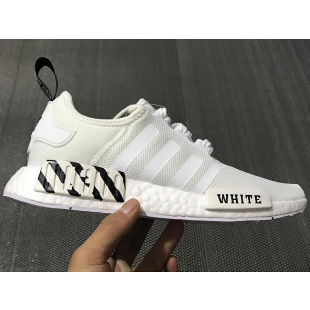 d4173f206 PO SHOES  Adidas NMD R1 Boost X OFF WHITE White