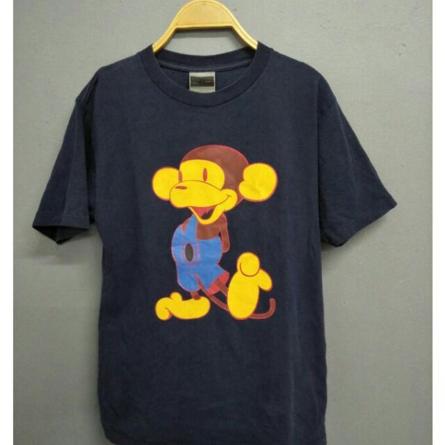 6c23e7ec Rare bape bathing ape x mickey mouse tshirt supreme s, Men's Fashion,  Clothes on Carousell