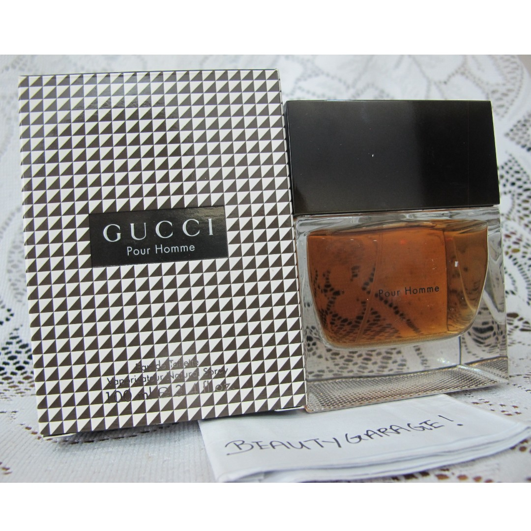 64e06ced59e3b RARE GUCCI POUR HOMME 100ml EDT Vintage Classic Men Perfume Tom Ford ...