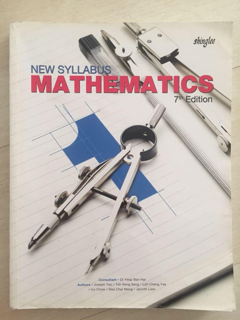 Sec 1 Mathematics (Shinglee)