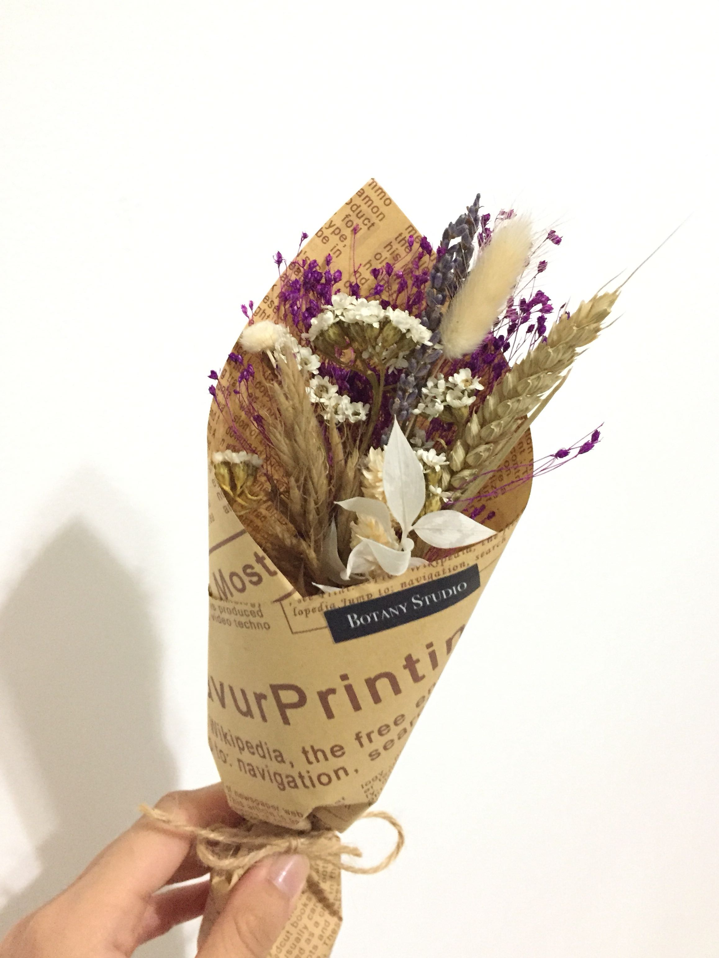 Small Dried Flower Bouquet Gardening On Carousell