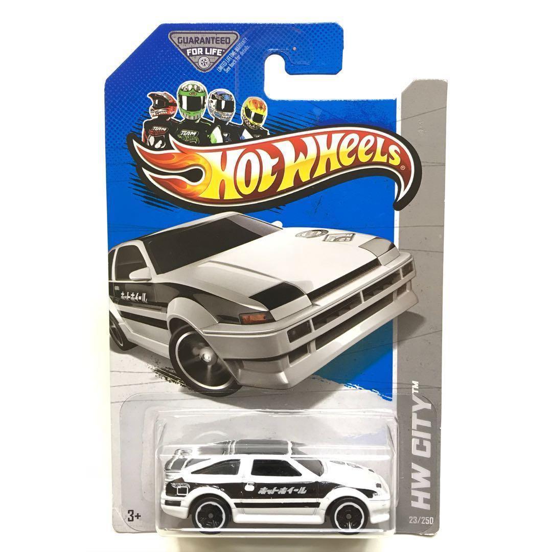 [Super Rare] [Last One] Hot Wheels Toyota AE-86 Corolla