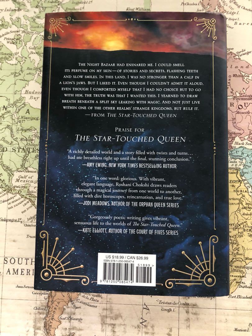 The Star Touched Queen (Hardcover) by Roshani Chokshi