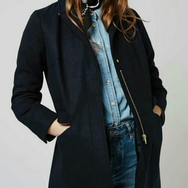 Topshop Slim Coat