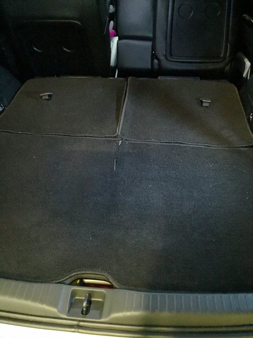 Toyota Wish Customised Car Boot Mat, Car Accessories on Carousell