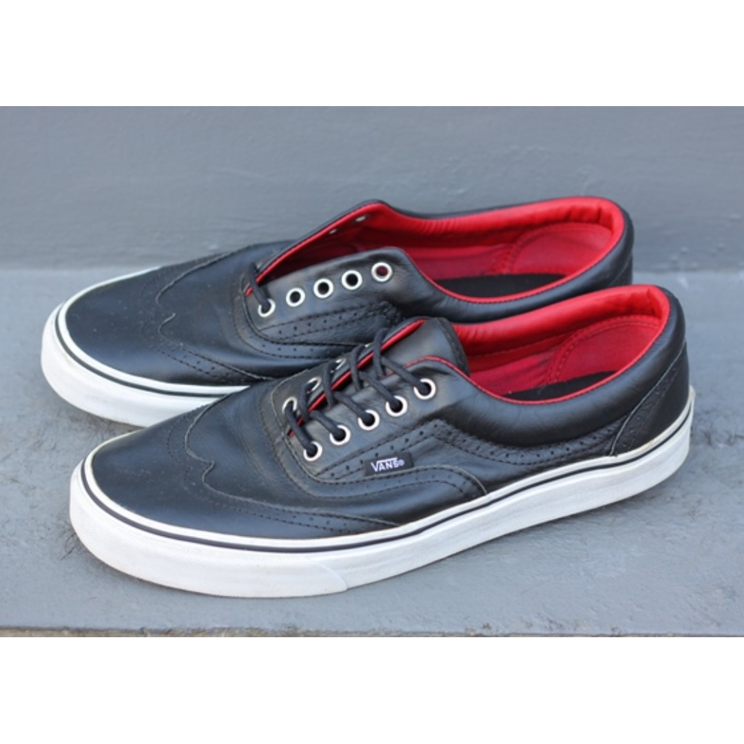 Vans Era Wingtip Leather Size 10 ff5301be3