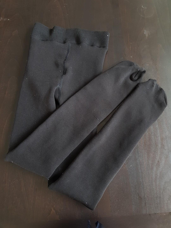 Very warm black tights
