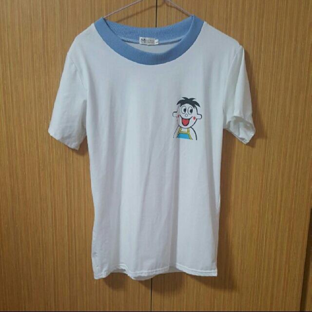 wang zai white shirt