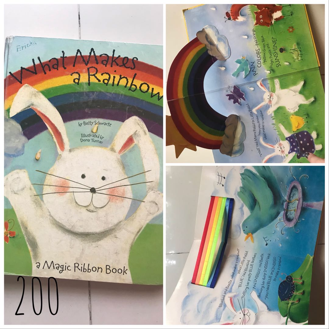 What Makes A Rainbow Books Childrens Books On Carousell