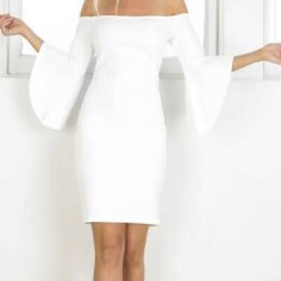 White Showpo Dress Size 8