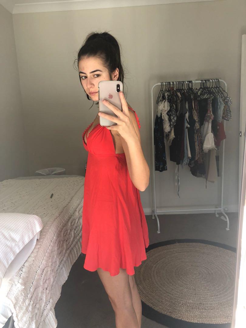 XS/6 Dress- Red