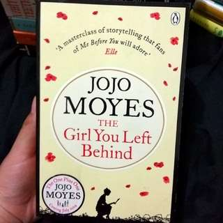 The Girl You Left Behind by Jojo Moyes Imported Book Novel