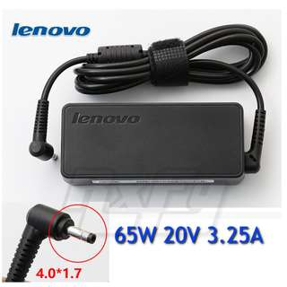 *ORIGINAL* Lenovo Ideapad 65w 20v 3.25a 4mm x 1.7mm Yoga 710s 510s AC wall charger power adapter