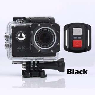 H12R Ultra HD 4K@30FPS Action Sports Camera DVR, Wifi&RF 2.4G Wireless Control, Waterproof 30M Digital Camera, 170 Degree