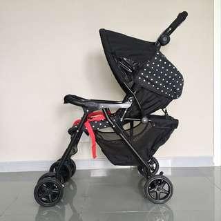 Graco Black Citisport Lite Stroller
