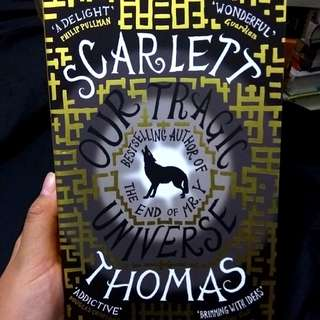 Our Tragic Universe by Scarlett Thomas Imported Book Novel