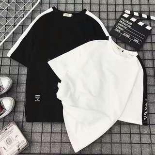 春夏原宿日文半袖設計港味bf風百搭寬鬆女學生短袖t恤