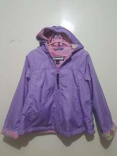 Pre-loved Purple Jacket with Hood