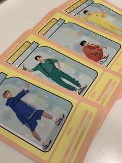 BTS 防彈少年團 4th Muster Cloud Card