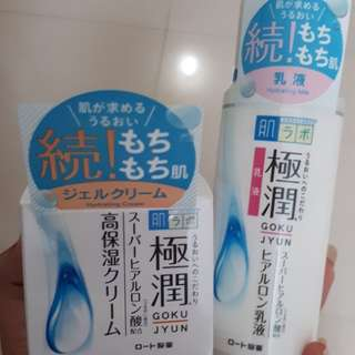 Hada Labo Gokujyun Moisture Milk & Cream