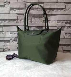 Authentic longchamp planet small or medium Available